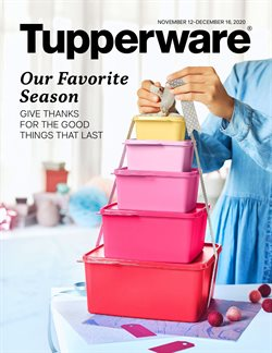 Home & Furniture offers in the Tupperware catalogue in Victoria BC ( 14 days left )