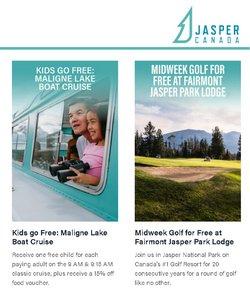 Travel deals in the Jasper catalogue ( 13 days left)