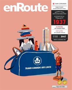 Travel offers in the Air Canada catalogue in Toronto