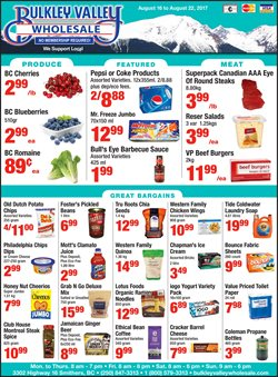 Bulkley Valley Wholesale deals in the Smithers flyer