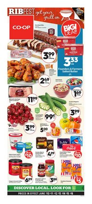 Grocery deals in the Calgary Co-op catalogue ( Expires today)