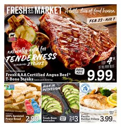 Fresh St Market deals in the Vancouver flyer