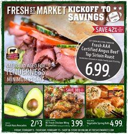 Fresh St Market catalogue ( Expired )