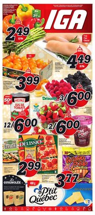 IGA Extra deals in the Sainte-Thérèse flyer