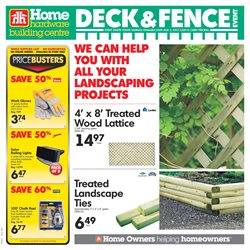 Home & furniture offers in the Home Hardware catalogue in Calgary