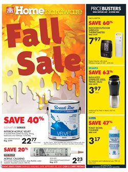 Home Hardware deals in the Victoria BC flyer