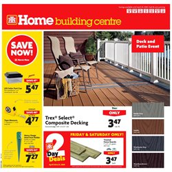 Home Hardware deals in the Parksville flyer