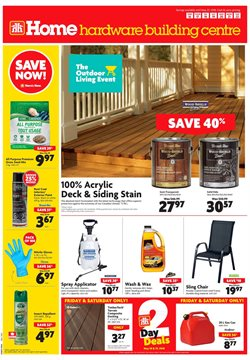 Home Hardware deals in the Sarnia flyer