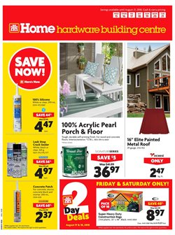 Home & furniture offers in the Home Hardware catalogue in Ottawa
