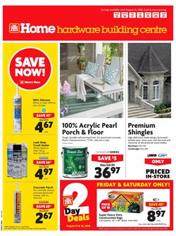 Home Hardware deals in the Vernon flyer