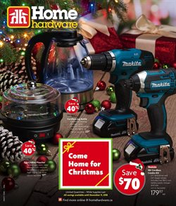 Home & furniture offers in the Home Hardware catalogue in Guelph