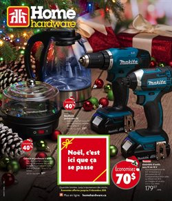 Home & furniture offers in the Home Hardware catalogue in Saint-Jérôme