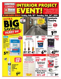 Home Hardware deals in the Bolton flyer