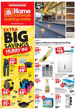 Home & furniture offers in the Home Hardware catalogue in Toronto