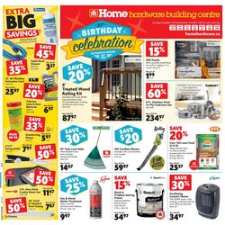 Home Hardware catalogue ( Expires tomorrow)