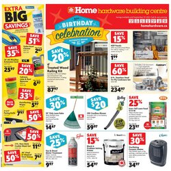 Garden & DIY deals in the Home Hardware catalogue ( 2 days left)
