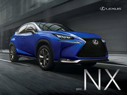 Lexus deals in the Toronto flyer