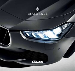 Maserati deals in the Toronto flyer