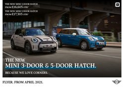 Automotive deals in the Mini catalogue ( More than a month)