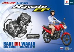 Cars, motorcycles & spares offers in the Suzuki catalogue in Vernon