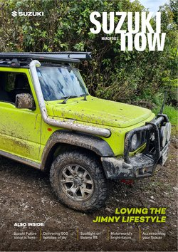 Automotive deals in the Suzuki catalogue ( More than a month)