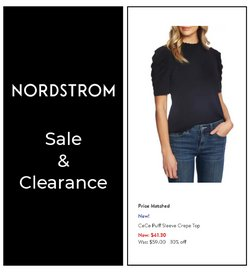 Nordstrom deals in the Nordstrom catalogue ( Published today)