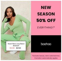 Boohoo deals in the Boohoo catalogue ( 8 days left)