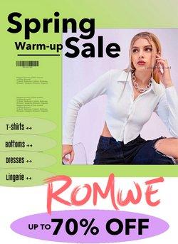 Romwe catalogue ( 10 days left )