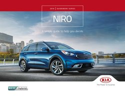 Automotive deals in the Kia catalogue ( More than a month)