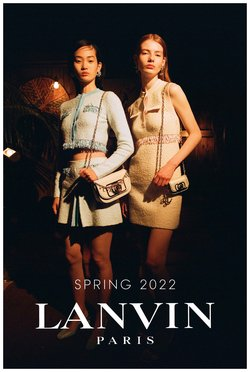 Luxury Brands deals in the Lanvin catalogue ( More than a month)