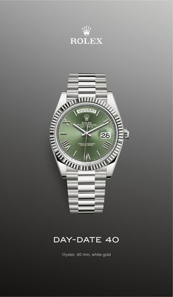 Rolex catalogue ( More than a month )