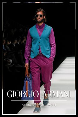 Armani deals in the Toronto flyer
