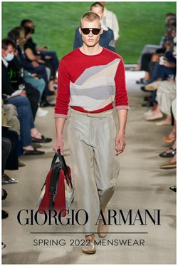 Luxury Brands deals in the Armani catalogue ( More than a month)