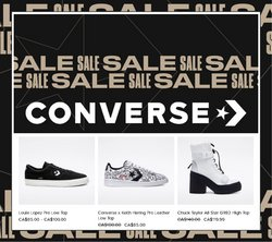 Converse deals in the Converse catalogue ( 15 days left)