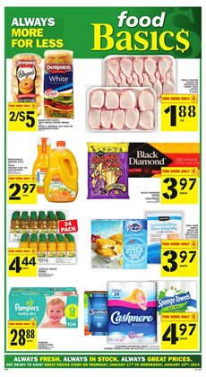 Food Basics deals in the Sudbury flyer