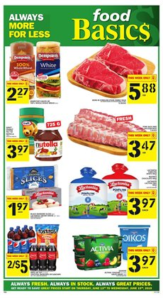 Food Basics deals in the Chatham-Kent flyer