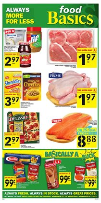 Food Basics deals in the Gatineau flyer