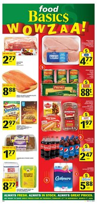 Food Basics catalogue in Sarnia ( 2 days ago )