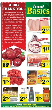 Food Basics catalogue in Ottawa ( Expires today )