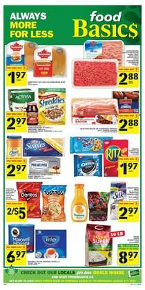 Grocery offers in the Food Basics catalogue ( Published today )