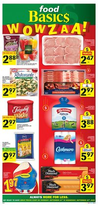 Food Basics catalogue ( 4 days left)