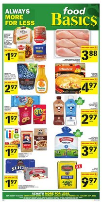 Food Basics catalogue ( 2 days left )