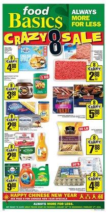 Food Basics catalogue ( 1 day ago )