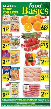 Food Basics catalogue ( Expired )