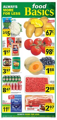 Food Basics catalogue ( 1 day ago )