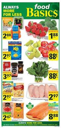 Food Basics catalogue ( 3 days left )