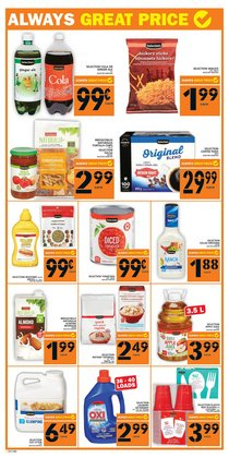 Grocery offers in the Food Basics catalogue ( 1 day ago )