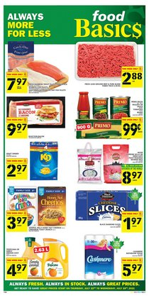 Food Basics catalogue ( 3 days left)