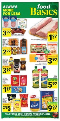 Grocery deals in the Food Basics catalogue ( Expires tomorrow)