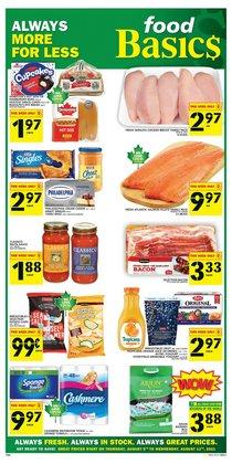 Food Basics catalogue ( Published today)